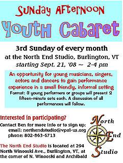 Youth Cabaret invite for blog