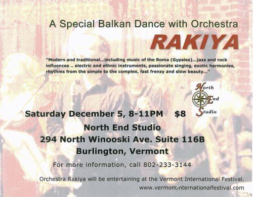 Rakiya Dance poster